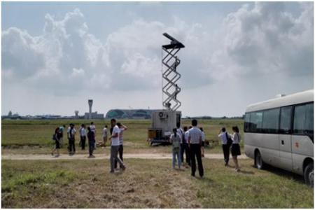 直升机装备无人机探测雷达