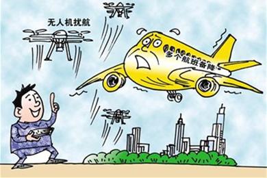 机场反无人机
