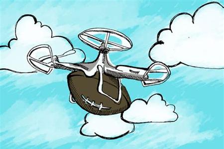反无人机系统解除无人机威胁