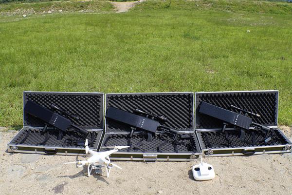 无人机防御:无人机干扰器