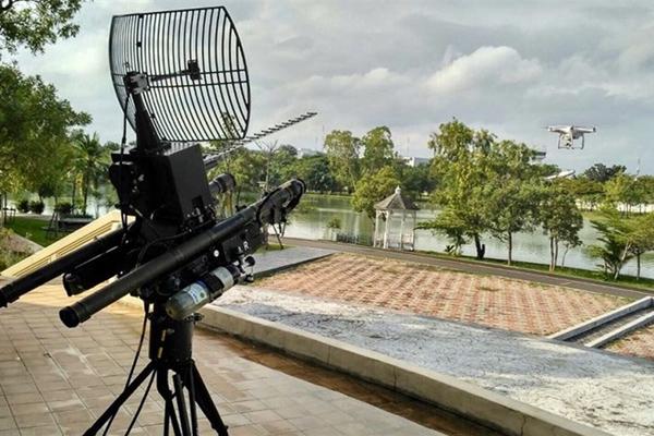 新的反无人机枪在天空中强加秩序