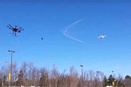 北京神州明达反制无人机系统成功为南亚某国的国航保架护航
